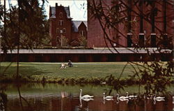 University of Massachusetts - Campus Pond, University Library, South College