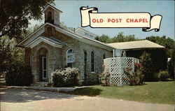 Old Post Chapel Postcard