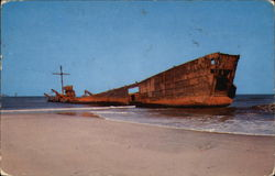 Ship wreck on Hatteras coast