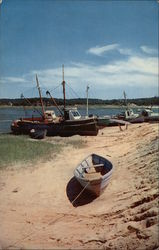 Fishing boats, at the Town Docks, Cape Cod