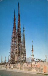 The Watts Towers Postcard