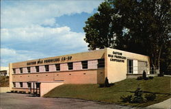 Eastern Milk Producer's Headquarters Postcard