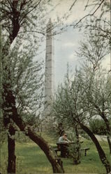 Fort Meigs Monument Postcard