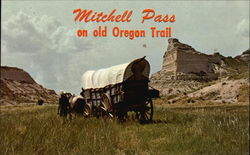 Mitchell Pass an old Oregon Trail