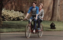 Ron, Jr. and Nancy Reagan