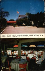 Spring Close House Restaurant on the East Montauk Highway, Long Island