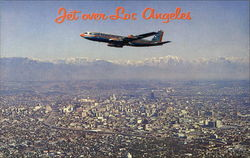Jet over Los Angeles