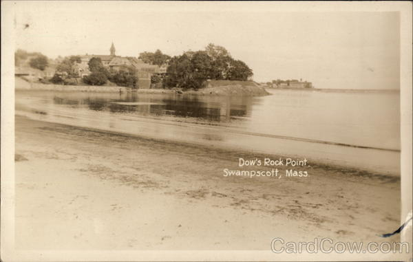Dow's Rock Point Swampscott Massachusetts