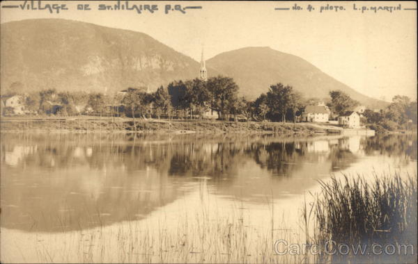 View of Village and Lake Village de St. Hilaire Canada