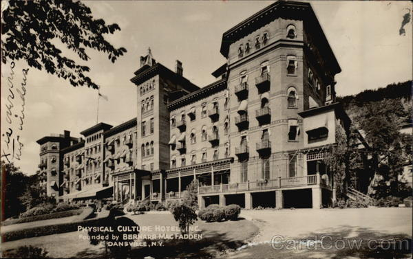 Physical Culture Hotel, Inc Dansville New York