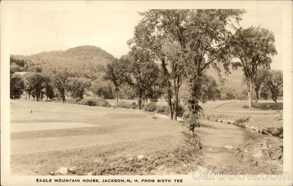 Eagle Mountain House from Sixth Tee Jackson New Hampshire