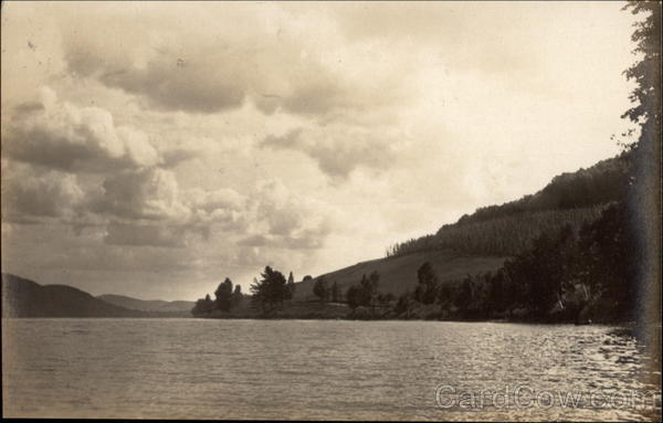 View of Lake Cooperstown New York