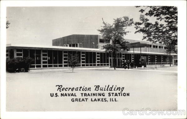 Recreation Building, US Naval Training Station Great Lakes Illinois