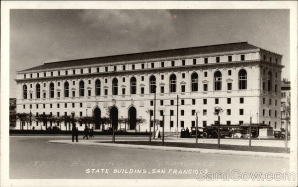 State Building San Francisco California
