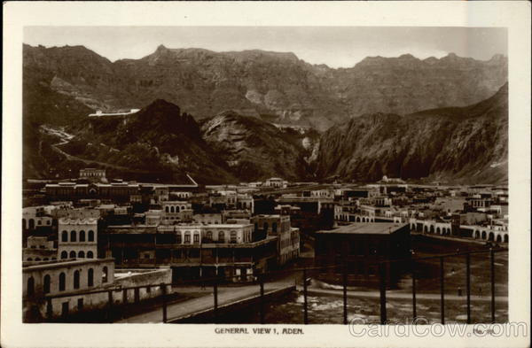 General View Aden Egypt Africa