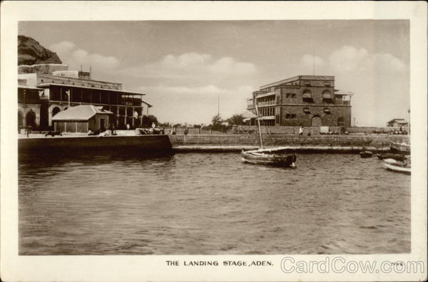The Landing Stage Aden Egypt Africa
