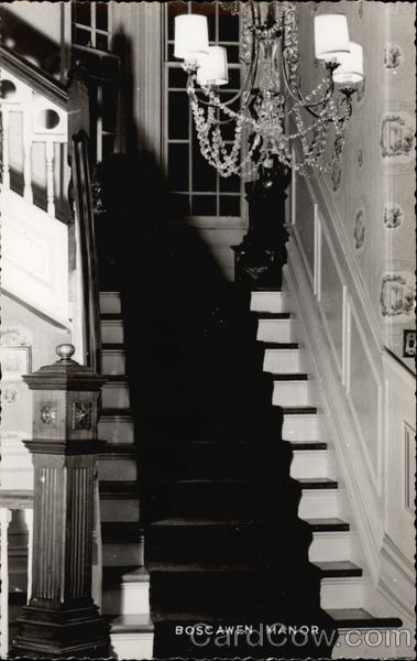 The Front Stairway at Boscawn Manor Lunenburg Canada