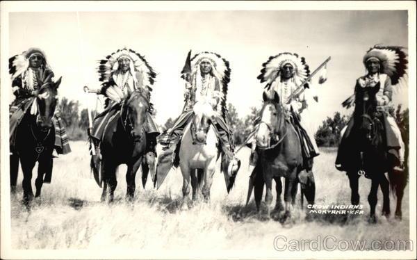 Crow Indians Hardin Montana Native Americana