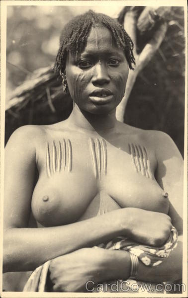 Nude African Woman Risque & Nude