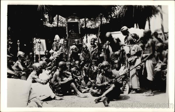 Guardsmen of the tribes Africa