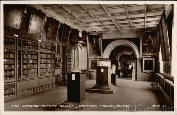 Bodleian Library - Interior Picture Gallery Oxford United Kingdom