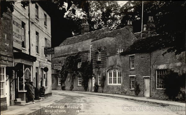 Chaucer's House Woodstock United Kingdom Oxfordshire