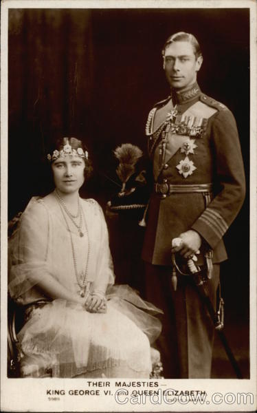 Their Majesties - King George VI, and Queen Elizabeth