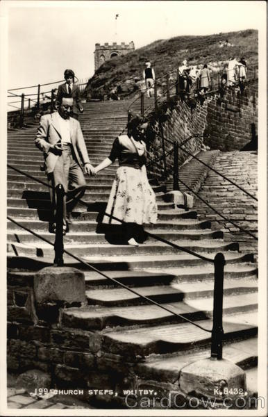 199 Church Steps Whitby England