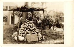 Indian Cairn, Historic Walker Tavern