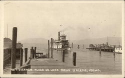 Steamer Flyer on Lake Coeur d'Alene