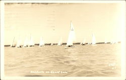 Sailboats on Grand Lake