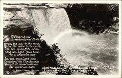 The Moonbow at Cumberland Falls
