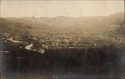 Showing the Foothills of the Catskills Postcard