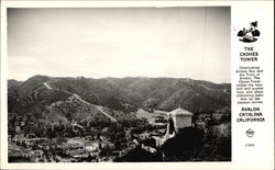 The Chimes Tower at Avalon Bay on Catalina Island