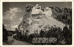 View of Mt. Rushmore