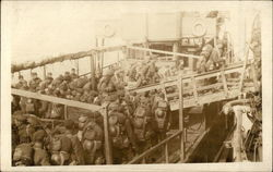 Soldiers on a Boat