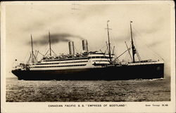 "Canadian Pacific S.S. ""Empress of Scotland"""