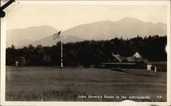 John Brown's Home in the Adirondacks