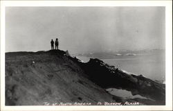 Tip of North America, Point Barrow Postcard