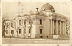 Washoe County Court House Postcard