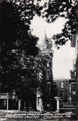 Old Senior Tower, Main Campus, Stephens COllege Postcard