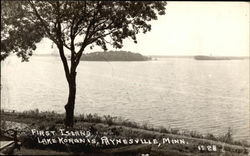 First Island, Lake Koronis
