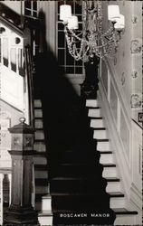 The Front Stairway at Boscawn Manor