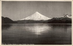 Volcano Osorno and Los Santos Lake