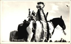 Crow Indians Postcard