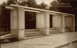 Exposition des Arts Decoratif, Pergola de la Douce France