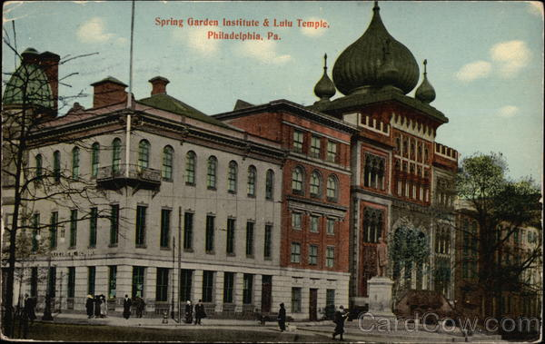 Spring Garden Institute & Lulu Temple Philadelphia Pennsylvania