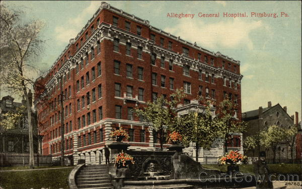 Allegheny General Hospital Pittsburgh Pennsylvania