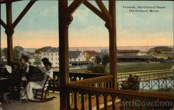 Veranda, Old Orchard House Old Orchard Beach Maine