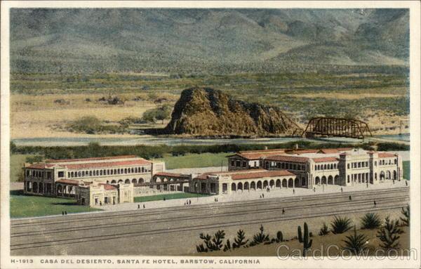 Casa del desierto santa fe hotel barstow ca - Casas del desierto ...